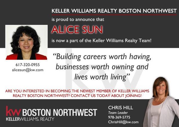 Welcome to KW Alice!